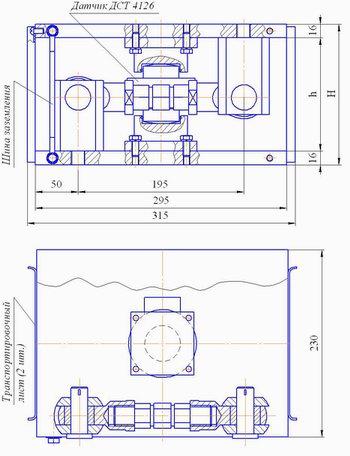 Весовой модуль ВМ-4126/056